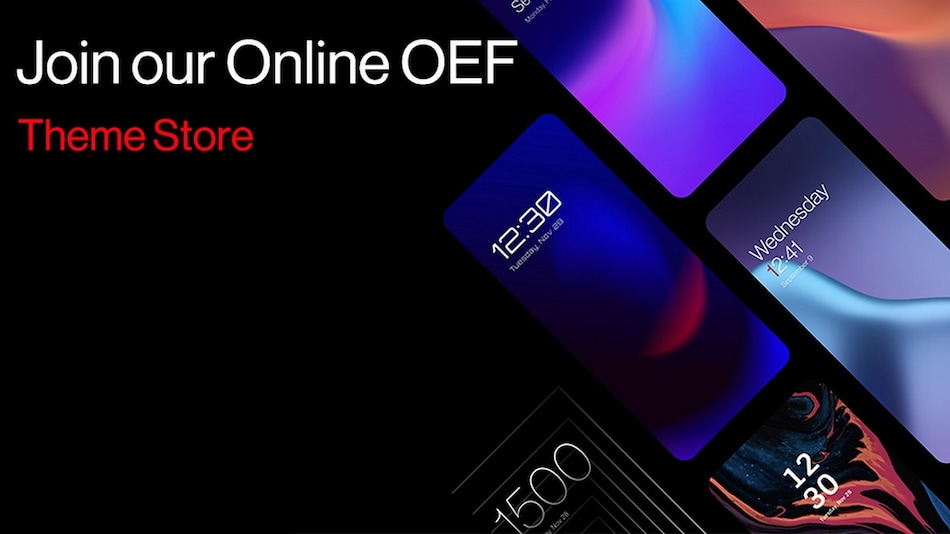 OnePlus to Bring New Theme Store With OxygenOS 12, Plans to Discuss With Users During Open Ears Forum on May 18