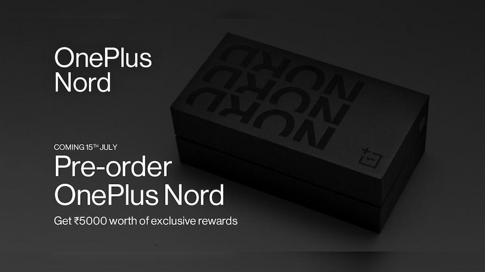 OnePlus Nord की प्री-बुकिंग आज दोपहर 1:30 बजे होगी शुरू, मिलेंगे 5,000 रुपये तक के फायदे