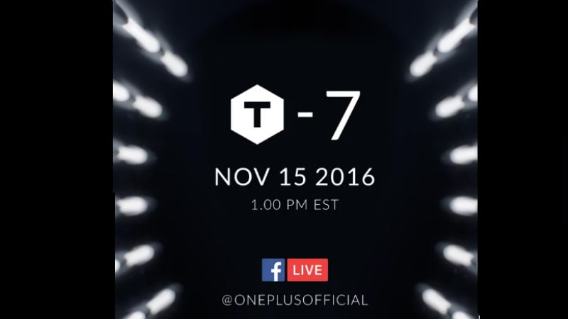 OnePlus 3T Launch Set for November 15
