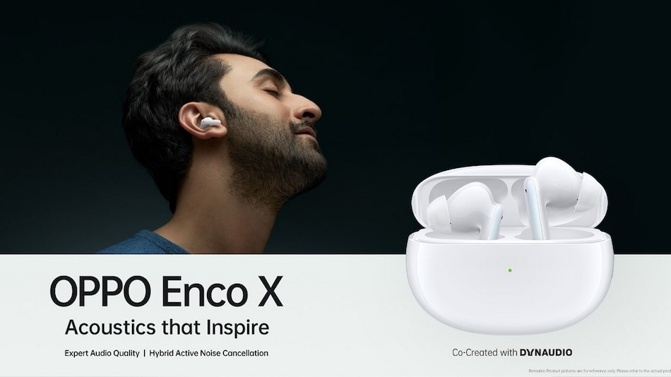 Oppo Enco X True Wireless Noise Cancelling Earphones India Launch Set for January 18