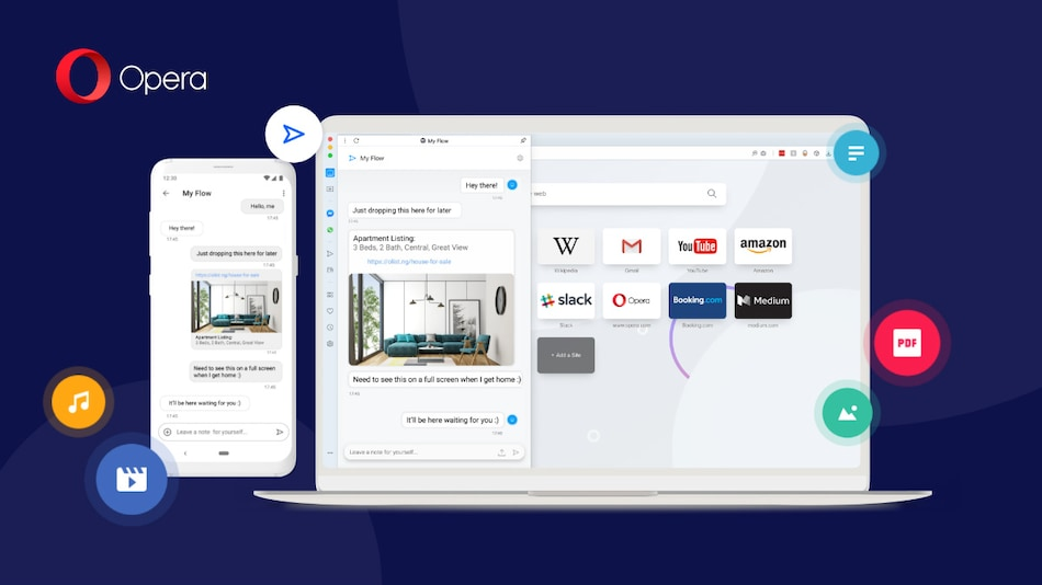 Opera for Android, Desktop Browsers Get Redesigned Sync Capabilities