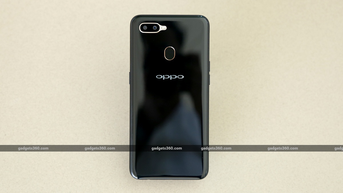 Oppo A5s Back NDTV Oppo A5s Review
