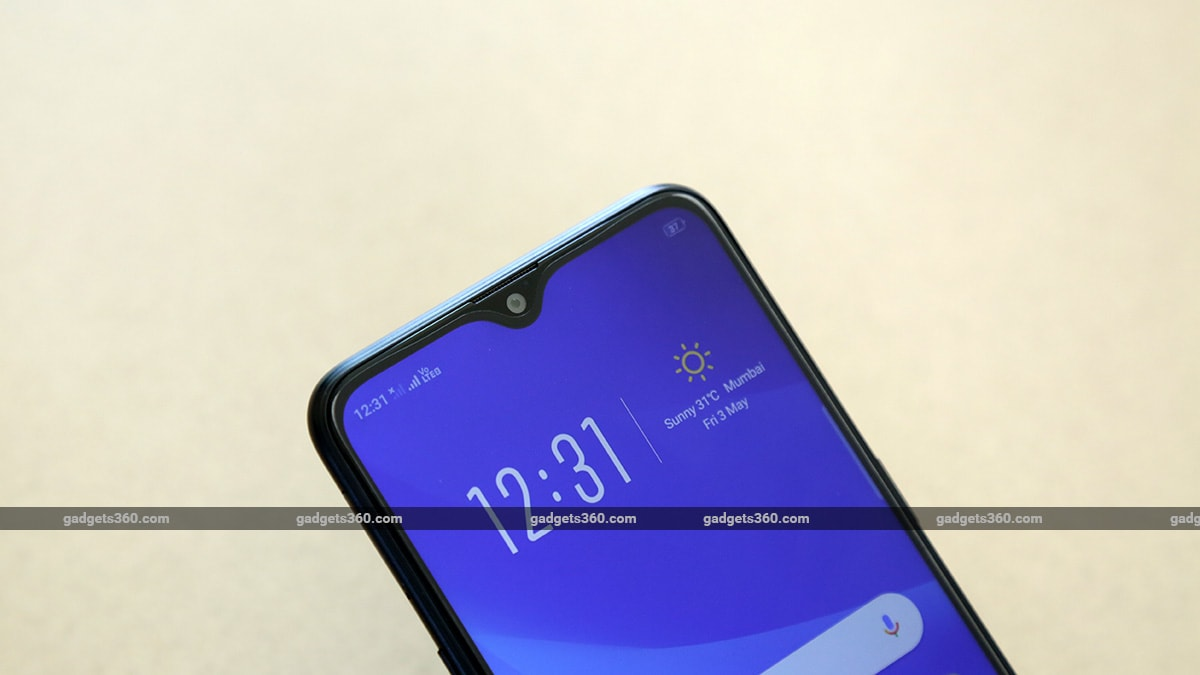Oppo A5s Display Notch NDTV Oppo A5s Review