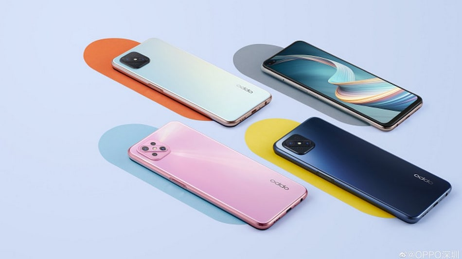 Oppo A92s Alleged Renders Surface Online, Colour Options Tipped
