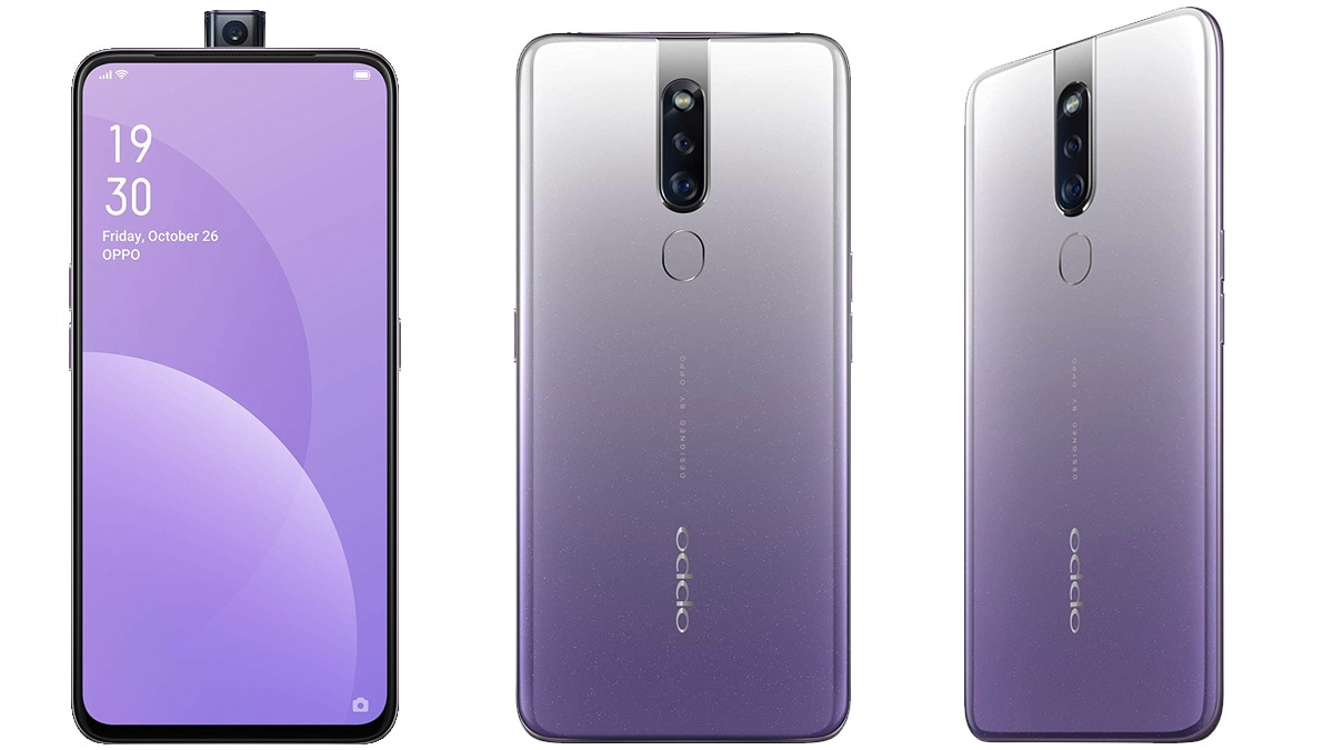 Oppo F11 Pro Waterfall Grey Variant Launched in India: Price, Specifications