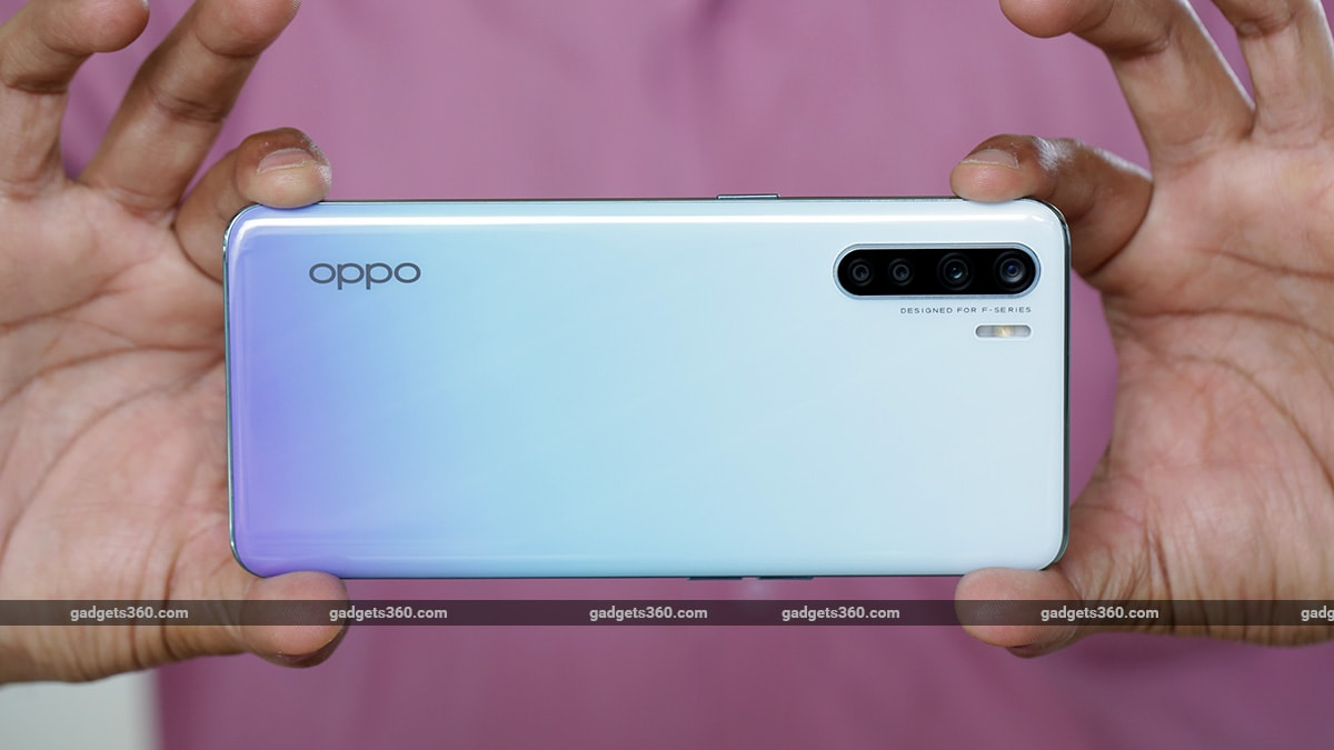 Oppo F15 style back  opo