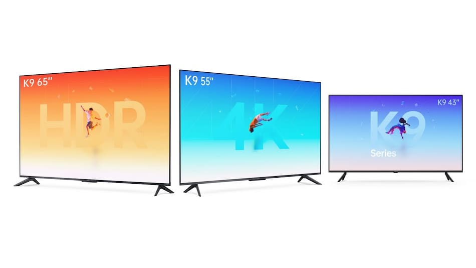 Oppo Smart TV K9 Series With 65-Inch, 55-Inch, 43-Inch Models, HDR10+, Dolby Audio Launched