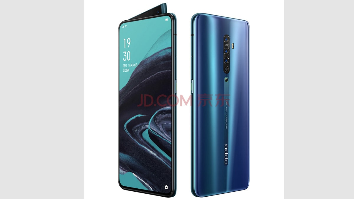 Oppo Reno 2 Specifications, Design Leaked by Retailer JD.com Ahead of Official Launch