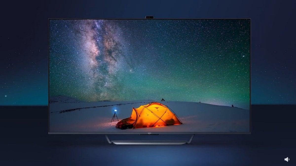Oppo Smart TV पॉप-अप कैमरा के साथ मार सकता है एंट्री, डिज़ाइन और स्क्रीन डिटेल्स भी आई सामने