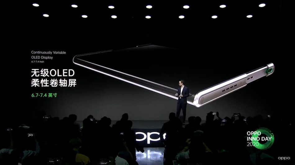 Oppo Showcases Oppo X 2021 Phone With Rollable OLED Screen, Oppo AR Glass 2021 With Air, Voice Gestures