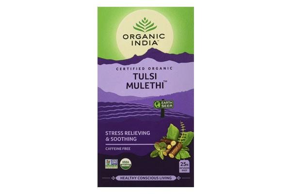 Best Herbal teas, Organic India Tulsi Mulethi Tea