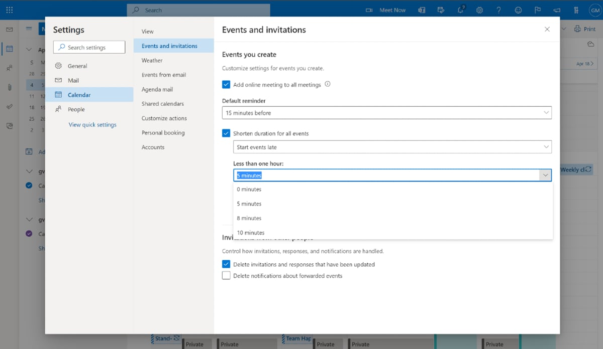 Microsoft Outlook Lets You Create Auto-Breaks Between Meetings: How to Use