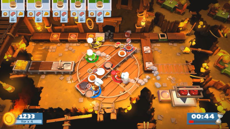 Cooking Games For Xbox 360 : Overcooked coming to ps pc xbox one nintendo switch