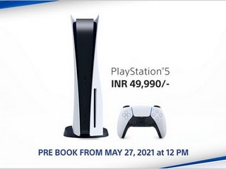 PS5 India Restock: PlayStation 5 Pre-Orders Start at 12 Noon on May 27 via Vijay Sales, Croma, More