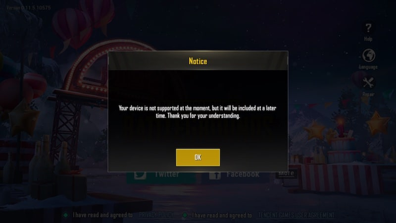 PUBG MOBILE REDMI GO PUBG_MOBILE