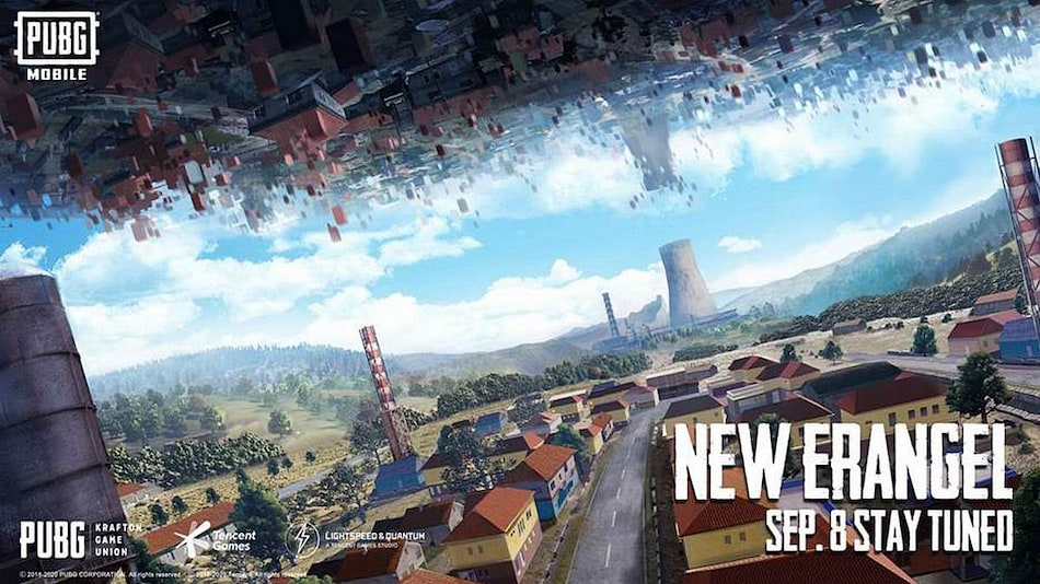 PUBG Mobile to Get Revamped Erangel Map on September 8, Developers Confirm