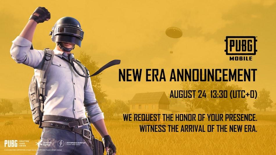 PUBG Mobile New Era Announcement Teased for August 24, May Bring Erangel 2.0