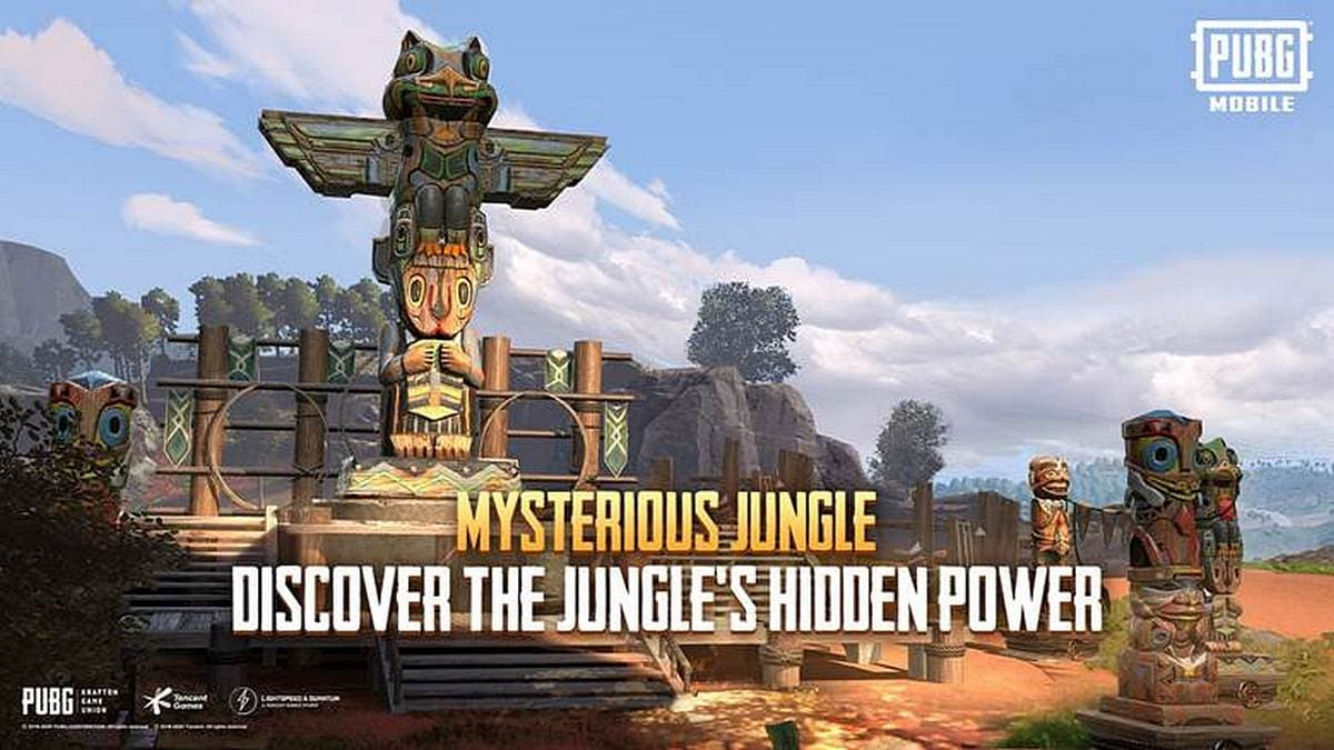 PUBG Mobile Adds Jungle Adventure Mode With Mysterious Totems, Jungle Food, and Hot Air Balloons