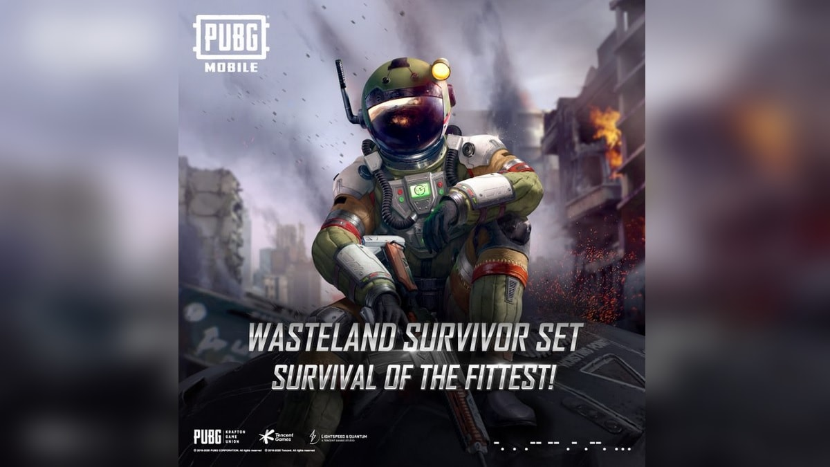 PUBG Mobile Gets Ranked Team Deathmatch and Wasteland Survivor Set