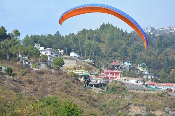 Paragliding Mussoorie 1553961753188