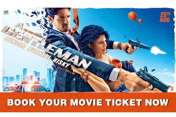 A Gentleman Movie Ticket booking offers, Promo codes, Book Movie Tickets Online