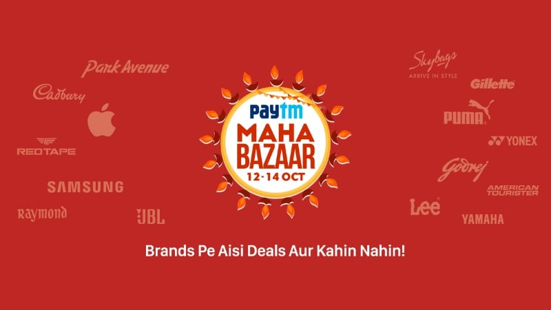 Paytm Sale Offers Will Include Cashbacks on iPhone, Other Apple Products, TVs, and More