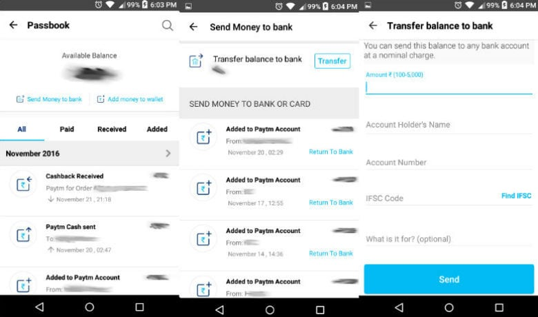 How to Transfer Money From Paytm To Any Bank Account