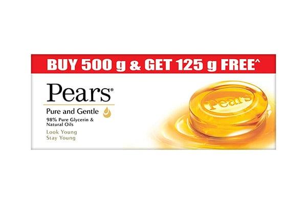 Pears Pure Gentle Moisturising Bathing Bar Soap 1613067221606
