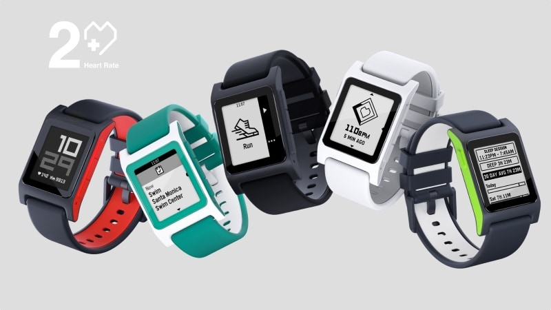 Pebble 2 + Heart Rate Goes Up for Pre-Orders; Pebble 2 SE to Become Available in November