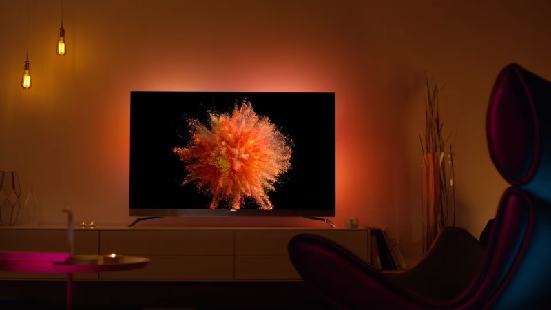 Philips Launches Its First Oled TV, a 4K Offering With Ambilight Tech