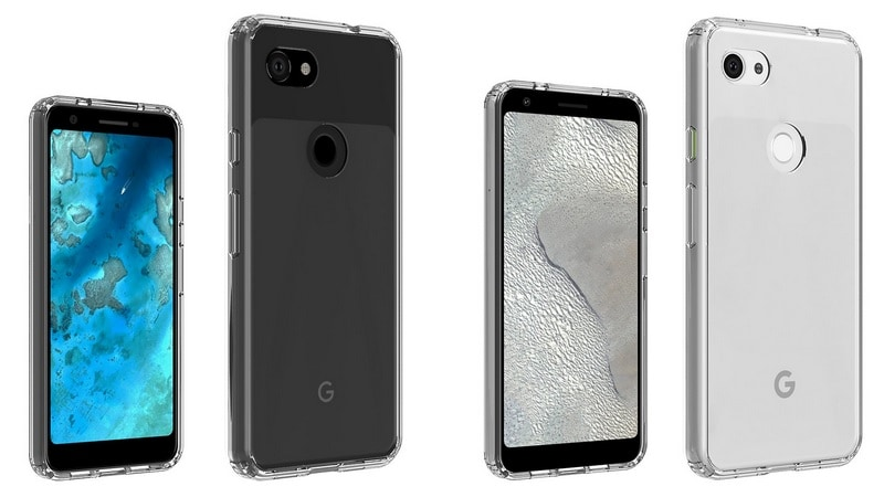 More details of the Pixel 4 and Pixel 4 XL surface