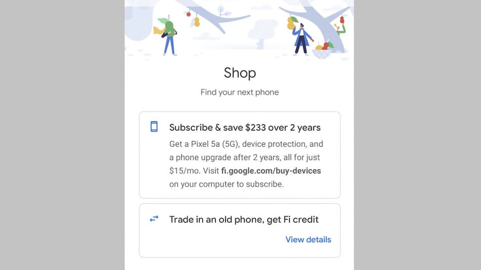 Google Pixel 5a 5G Could Cost $499, Google Fi App Allegedly Suggests Price