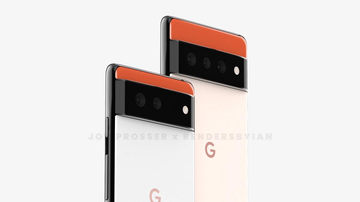 Google Pixel 6 Series Renders Show Striking New Design, Pixel Watch Surfaces
