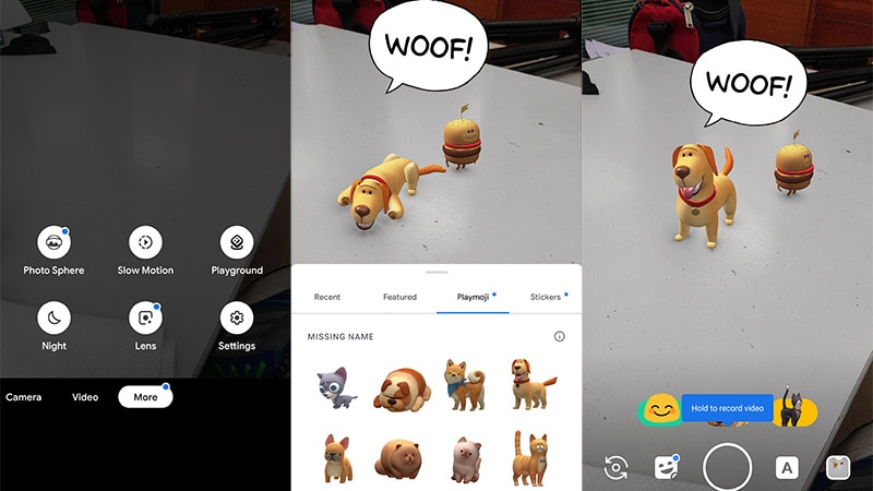 Google's Playground AR Camera Effects App Comes to Other Android Phones