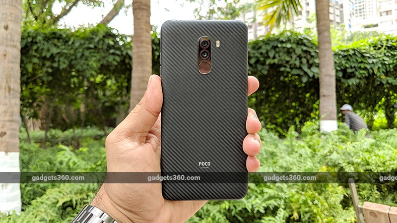 Poco F1 R Back Xiaomi Poco F1 Review