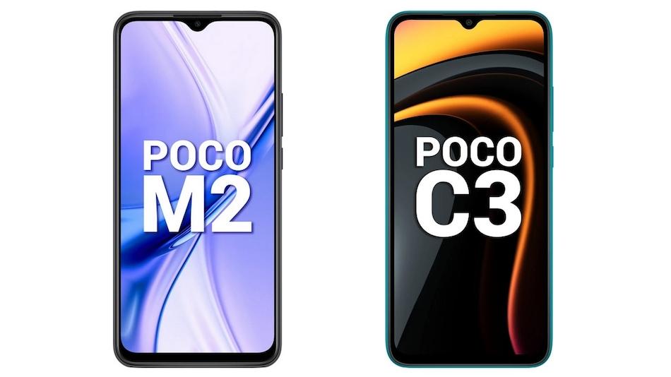 Poco M2 और Poco C3 की कीमतों में 1,500 रुपये तक की कटौती, जानें नए दाम