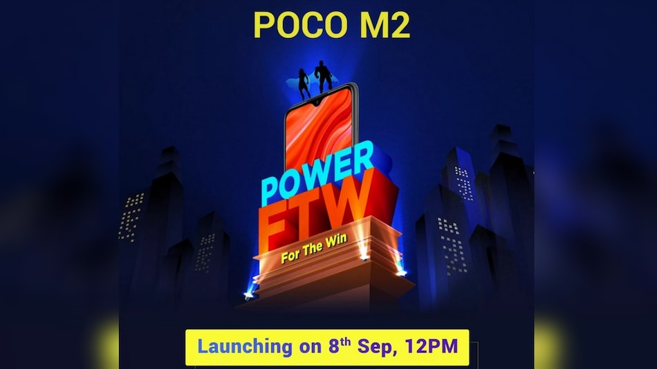 Poco M2 Teased to Come With Full-HD+ Display, 6GB of RAM Ahead of Launch