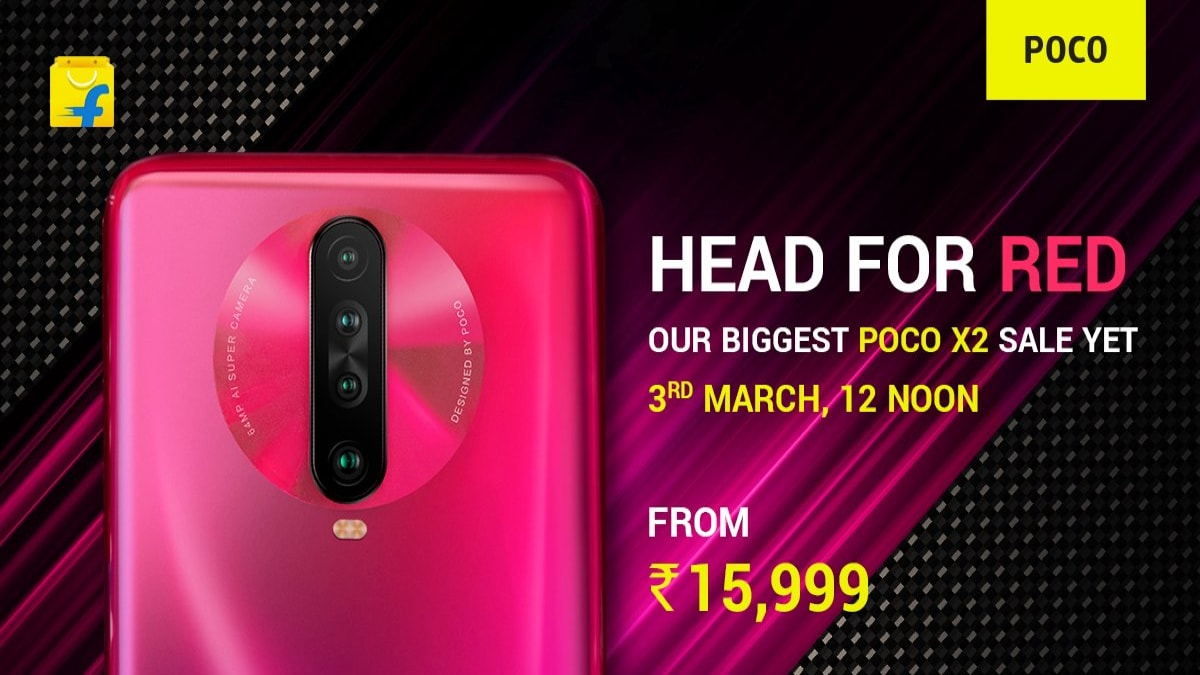 Poco X2 to Go on Sale on March 3 in Biggest Ever Sale, Exclusively for Phoenix Red Variant