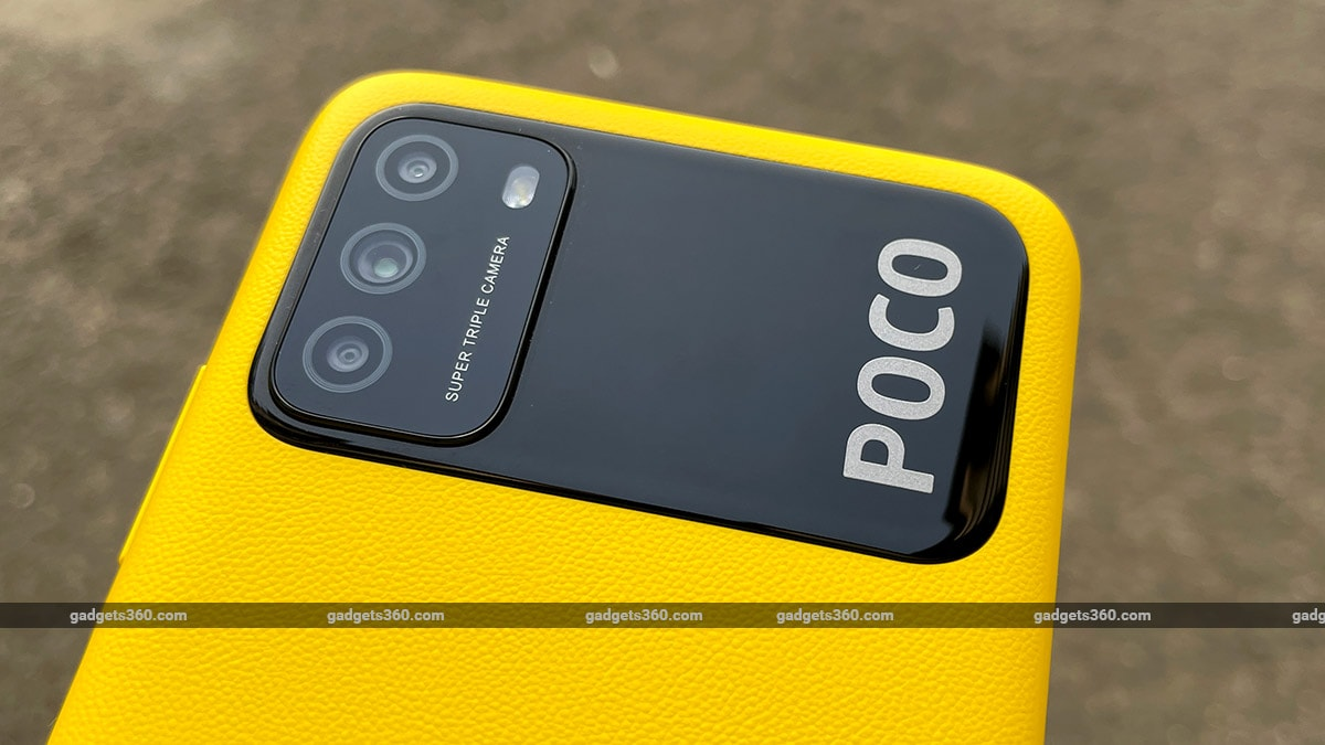 Poco m3 First impressions textured back Poco M3 First Impressions