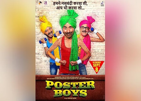 Poster Boys Movie Ticket Booking Offers, Promo Codes, Cashback Offers, Book Movie Tickets Online
