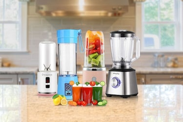 Powerful, Portable Blenders To Extract Juices; Even On The Go!