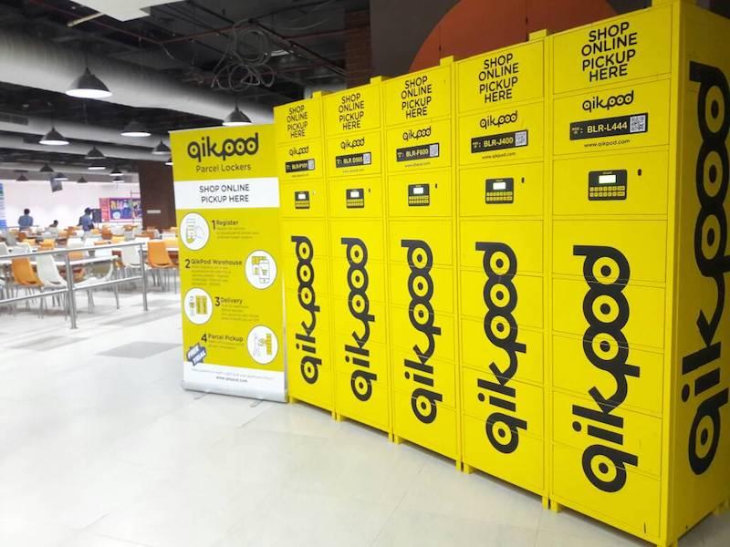 QikPod Lockers bangalore qikpod
