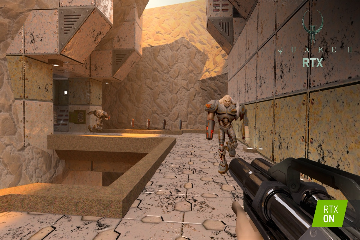 Quake II RTX Is the Classic Remastered by Nvidia, and It's Coming as a Free Download on June 6