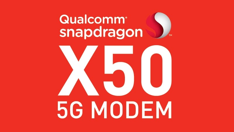 Qualcomm Snapdragon X50 5G Modem and First Gigabit Class LTE Device Unveiled
