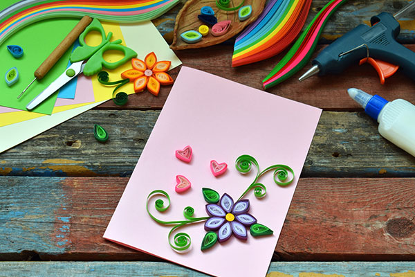 Quill Birthday Card Ideas Photo Credit Istockphoto By Oksana S