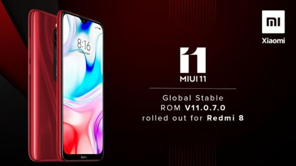 Redmi 8 Starts Receiving New MIUI 11 Update With Camera and Battery Improvements