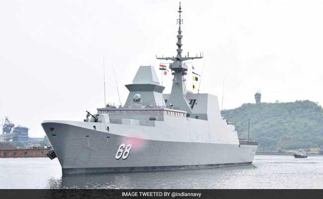 Singapore Navy Ship Reaches Vishakhapatnam For Joint Exercise
