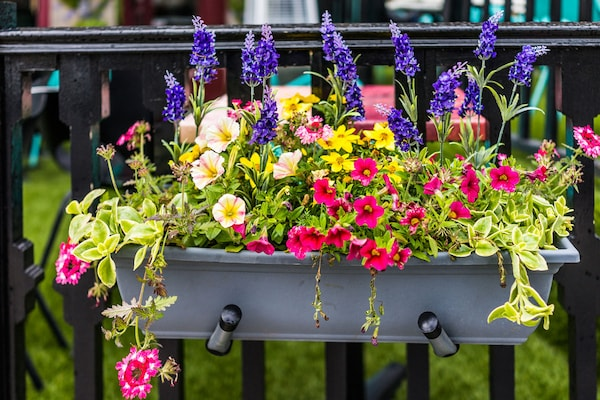 Railing Planters To Instantly Add Vibrance To Balconies
