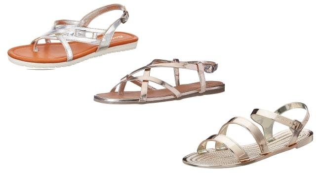 Rakul Preet Beach Attire White High Casual Sandals 1558008180174
