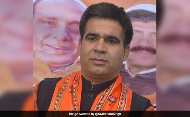 'Hardliner' Accused Of Assault Inside Assembly Is New Jammu And Kashmir BJP Chief
